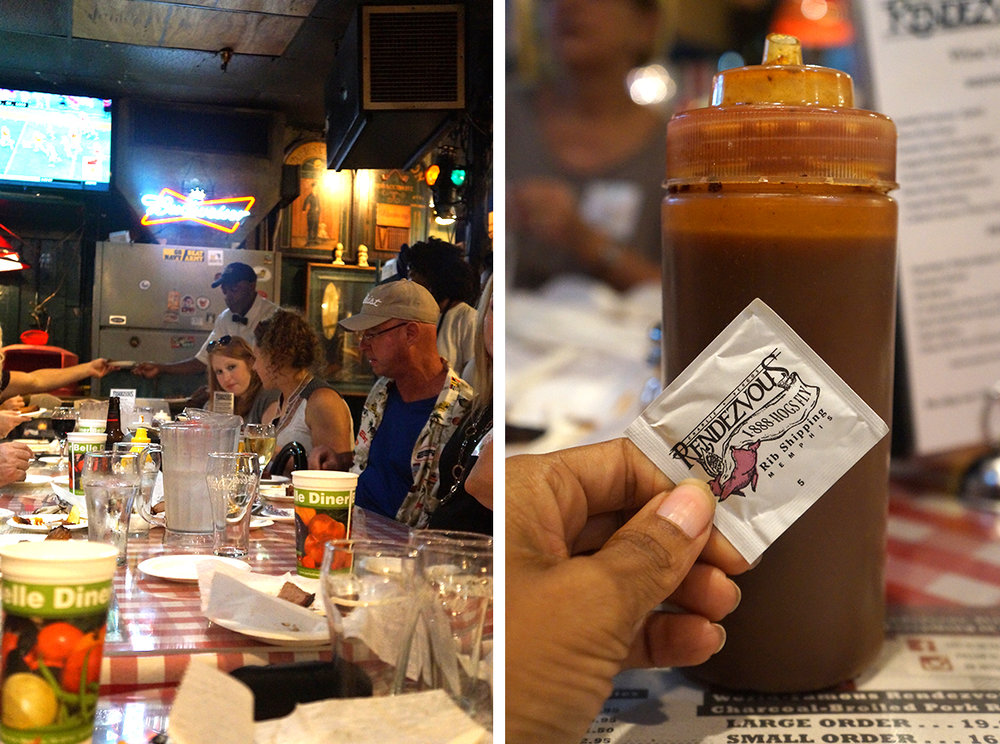 Charlie Vergos Rendezvous Restaurant Memphis