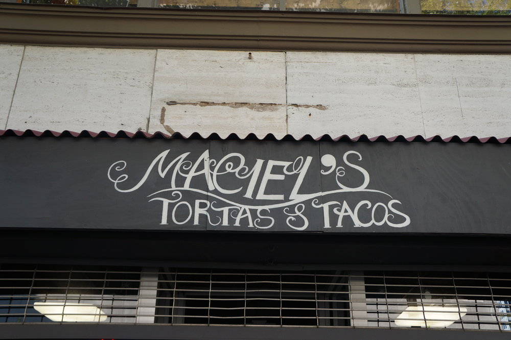 Andrea Fenise visits Maciel's Tortas and Tacos on the City Tasting Tour