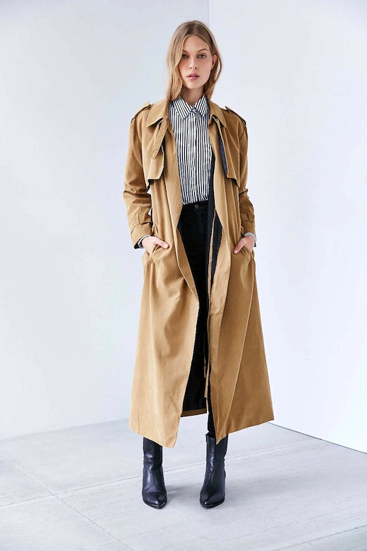 Light Trench Coat Inspiration by Andrea Fenise