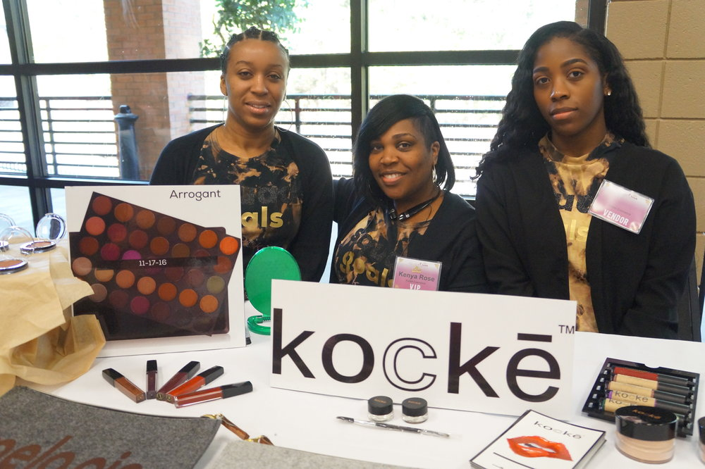 Kenya Rose of Kocke Cosmetics and the Kocke team