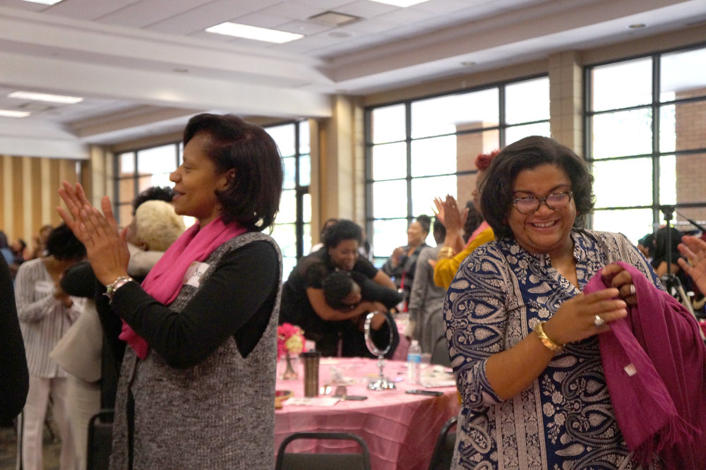 Andrea Fenise Memphis Fashion Bloggers cover Rock Your Crown Empowerment Workshop