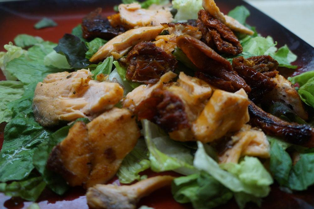 Andrea-Fenise-Salmon-Sundried-Tomato-Salad-Recipe