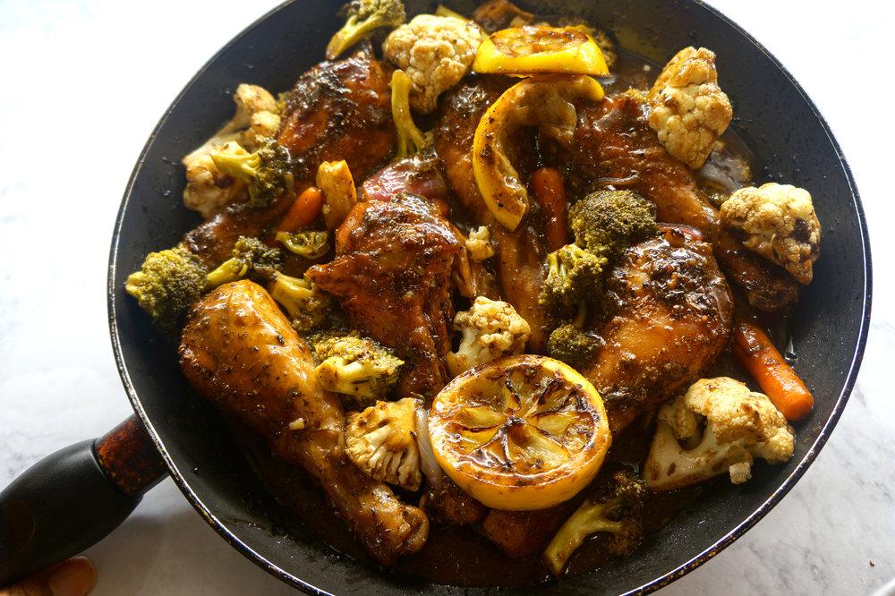 Andrea Fenise Memphis Food blogger shares Balsamic Vinegarette Chicken Recipe