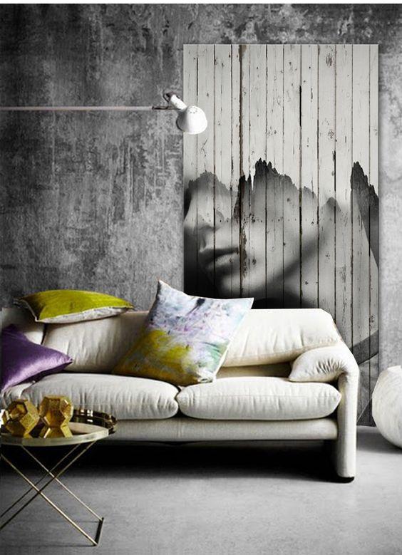 Andrea Fenise, Memphis Fashion Blogger, Antonio Mora wooden mural