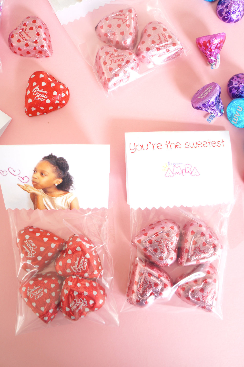 Andrea Fenise Memphis Fashion and ParentIng Blogger shares DIY Candy Bag craft