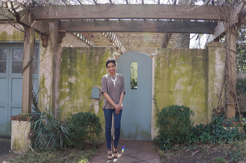 Andrea Fenise Memphis Fashion Blogger shares ideas on how to slow down for spring