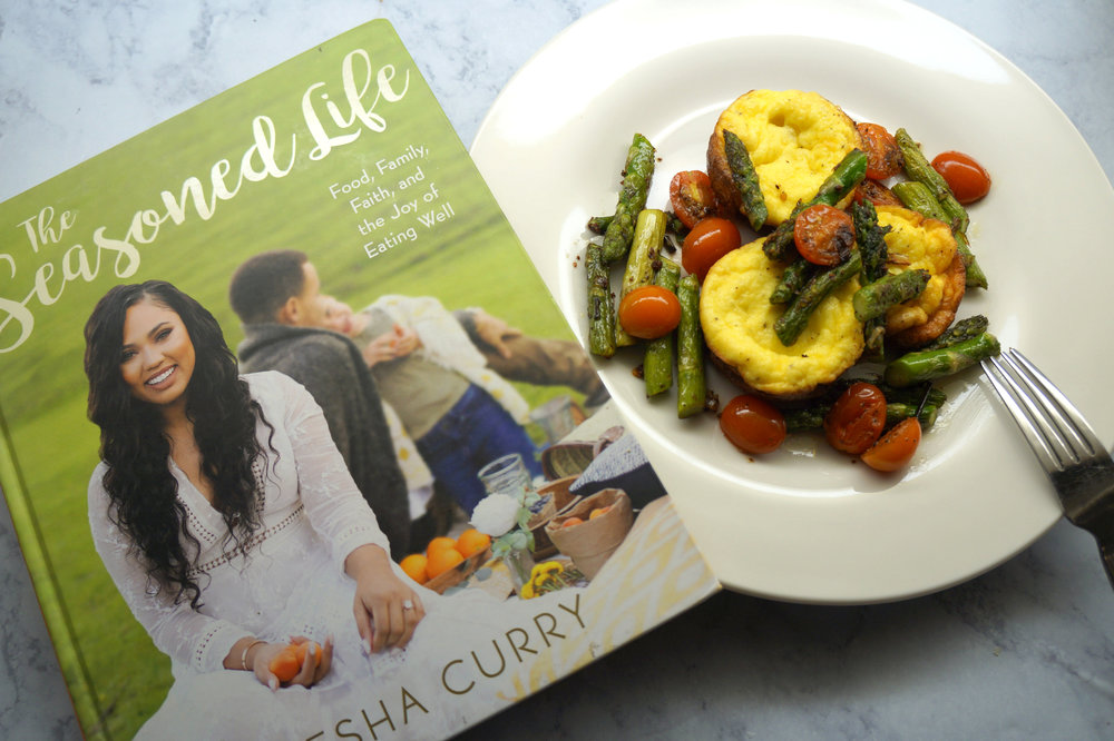 Andrea Fenise reviews Ayesha Curry's The Seasoned Life Cookbook