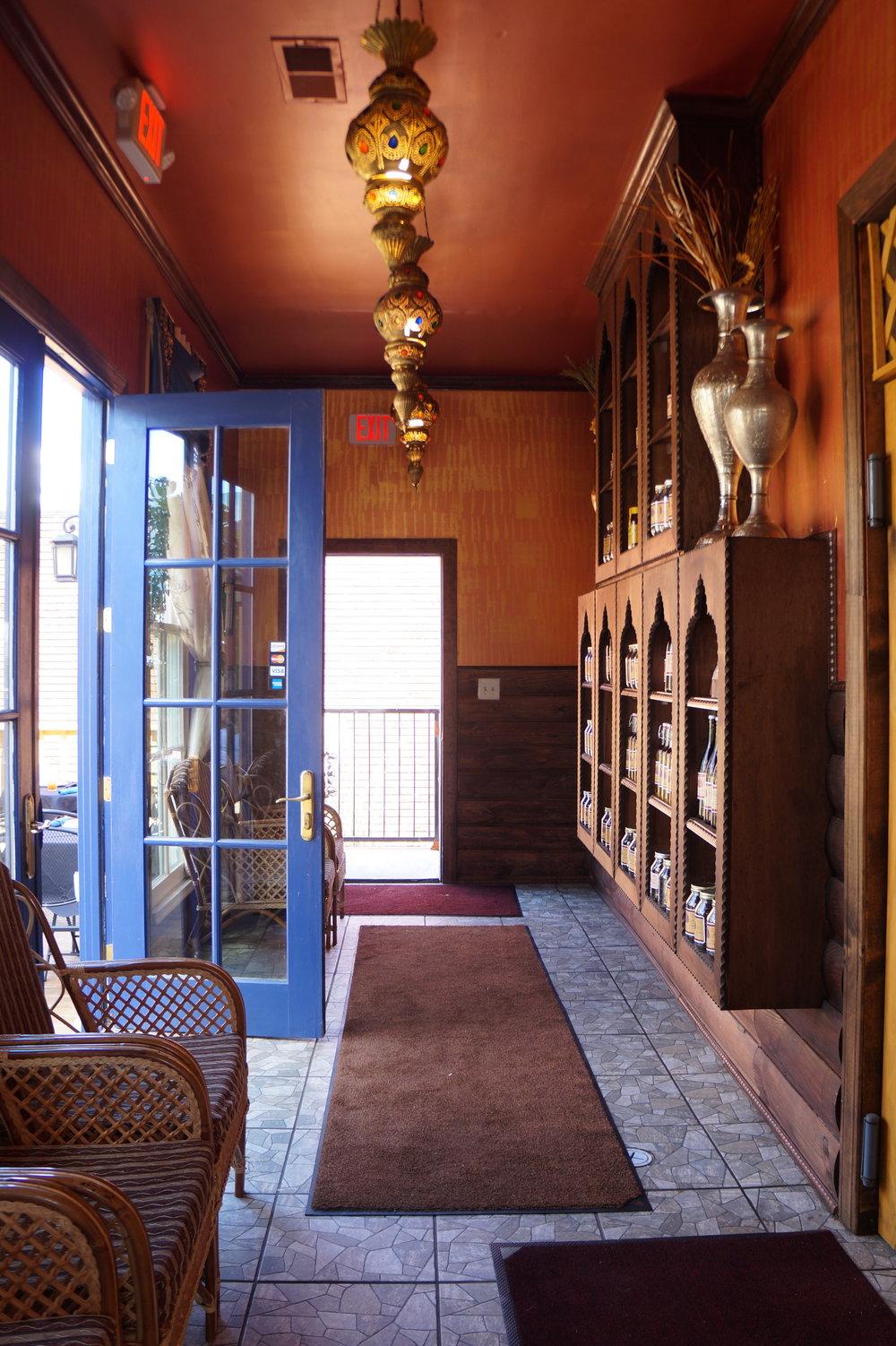 Andrea Fenise Memphis Fashion and Food Blogger reviews Casablanca Restaurant