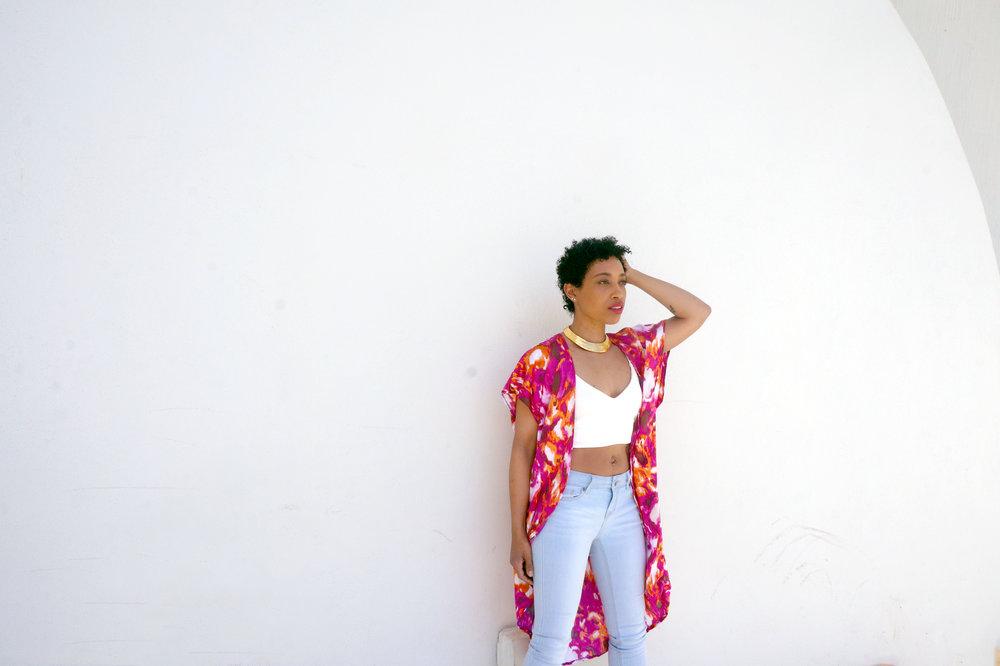 Andrea-Fenise-Kimono-Cropped-Top