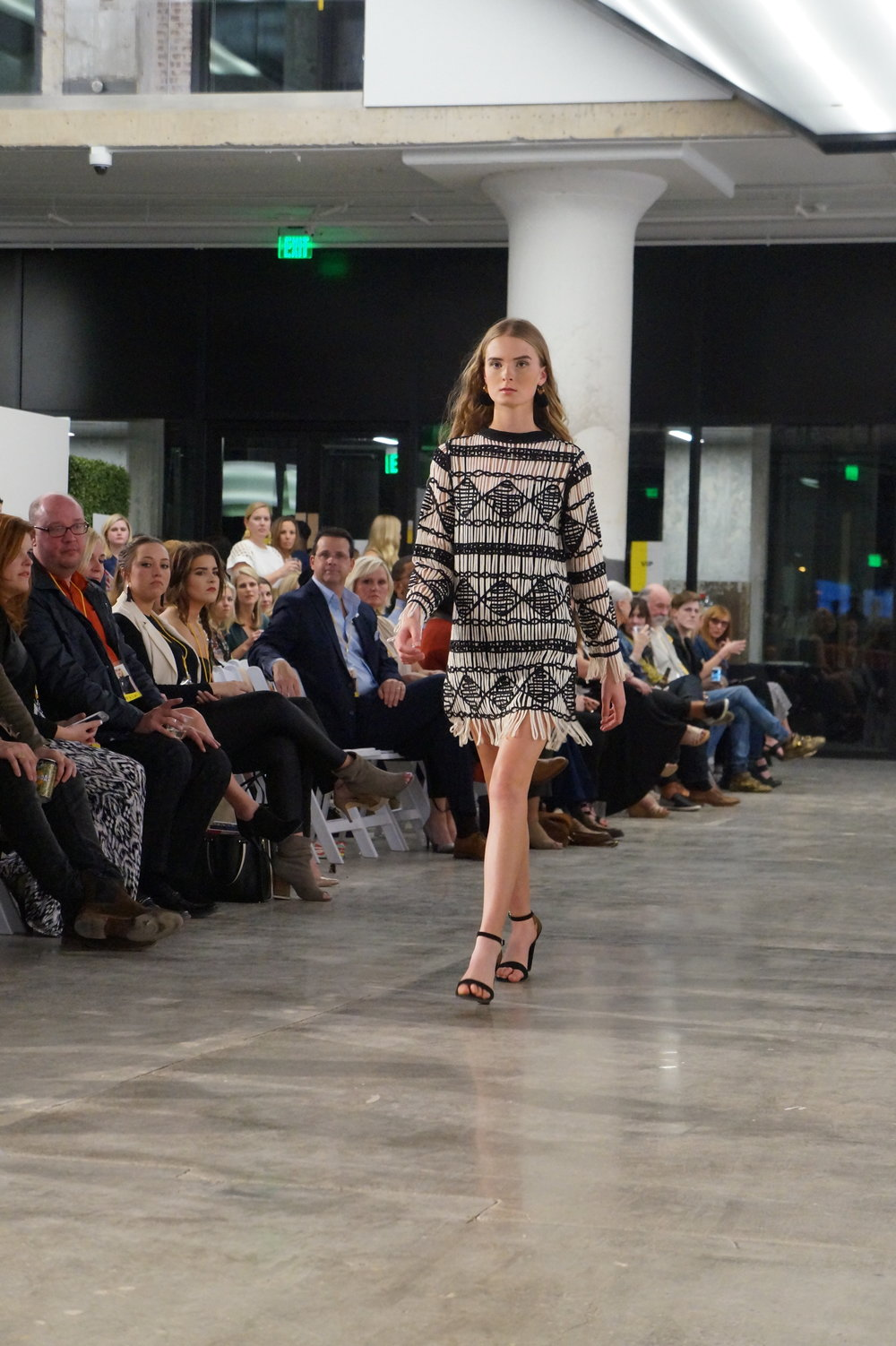 Andrea Fenise Memphis Fashion Blogger shares #memphisfashionweek featured designer's show