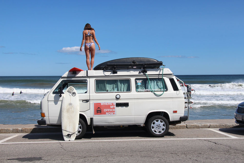 Andrea Fenise Memphis Fashion Blogger shares road trip inspiration and van life