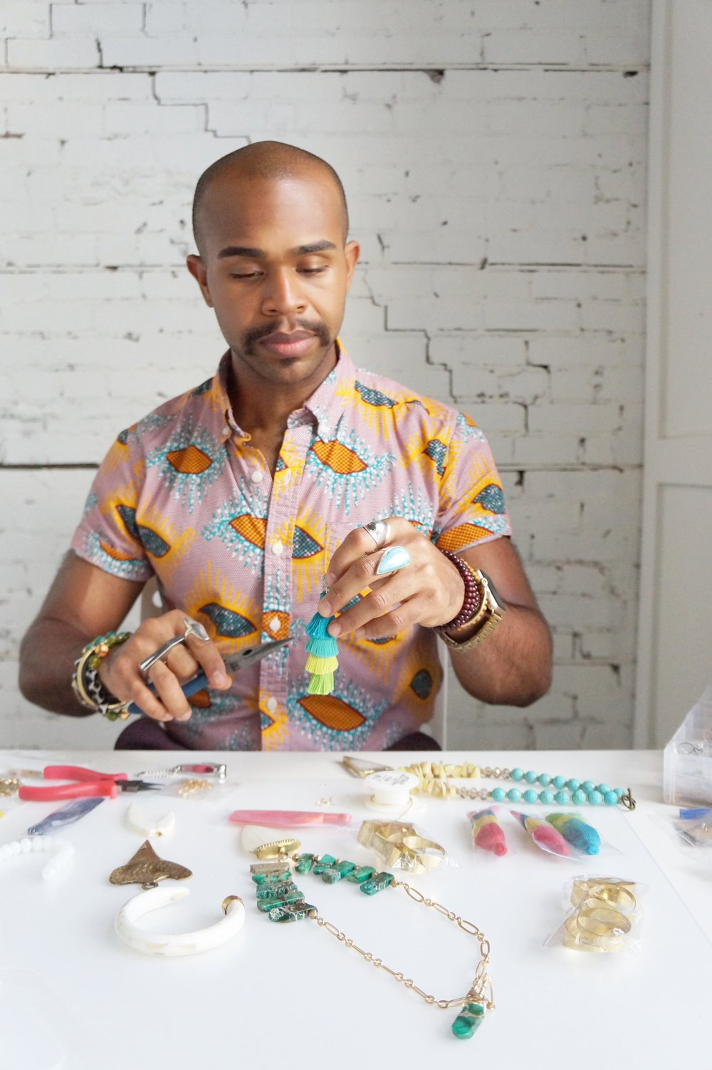 Andrea Fenise Memphis Fashion Blogger shares IVJD open studio