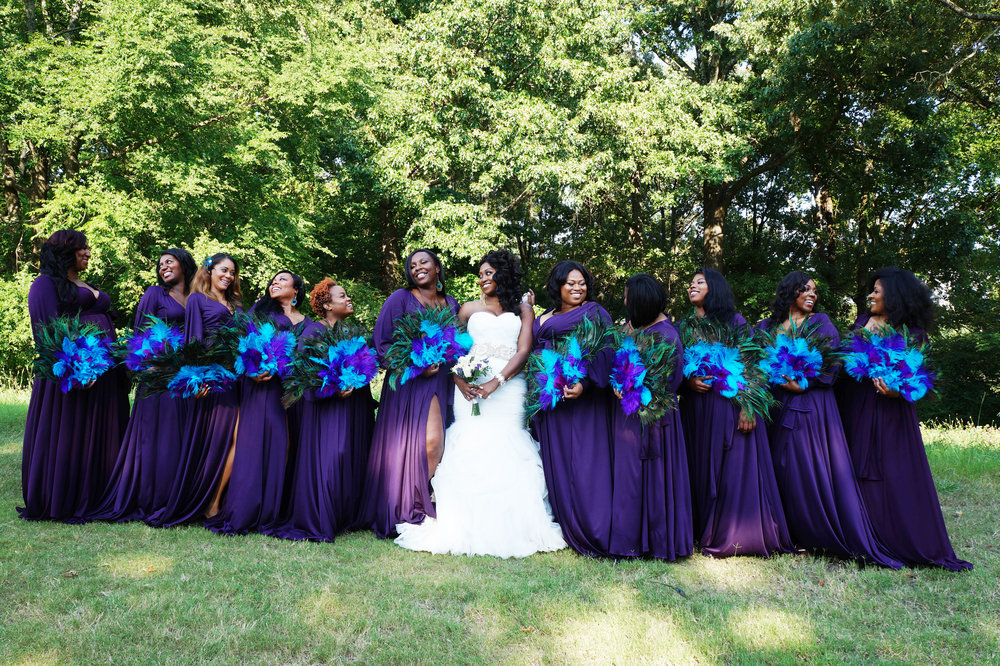 Andrea-Fenise-Talesha-Bridal-Party