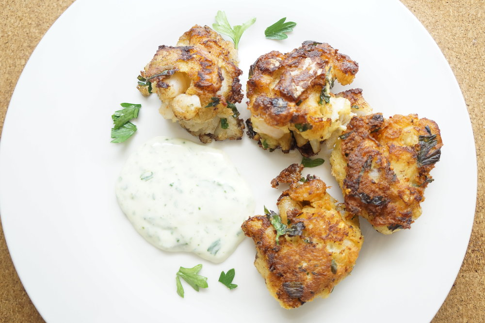 Andrea Fenise Memphis Fashion Blogger shares shrimp and cod cakes