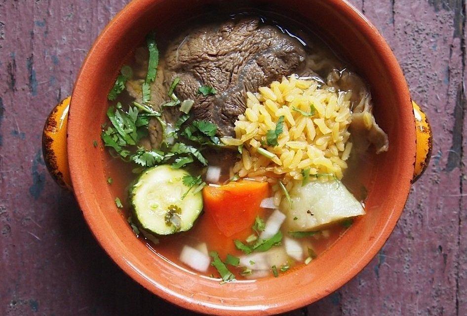Andrea Fenise Memphis Fashion Blogger shares recipe for Caldo de Res Soup