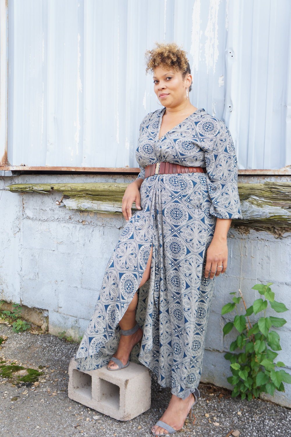 Andrea Fenise Memphis Fashion Blogger features Tiena Gwin for Working Girl Series