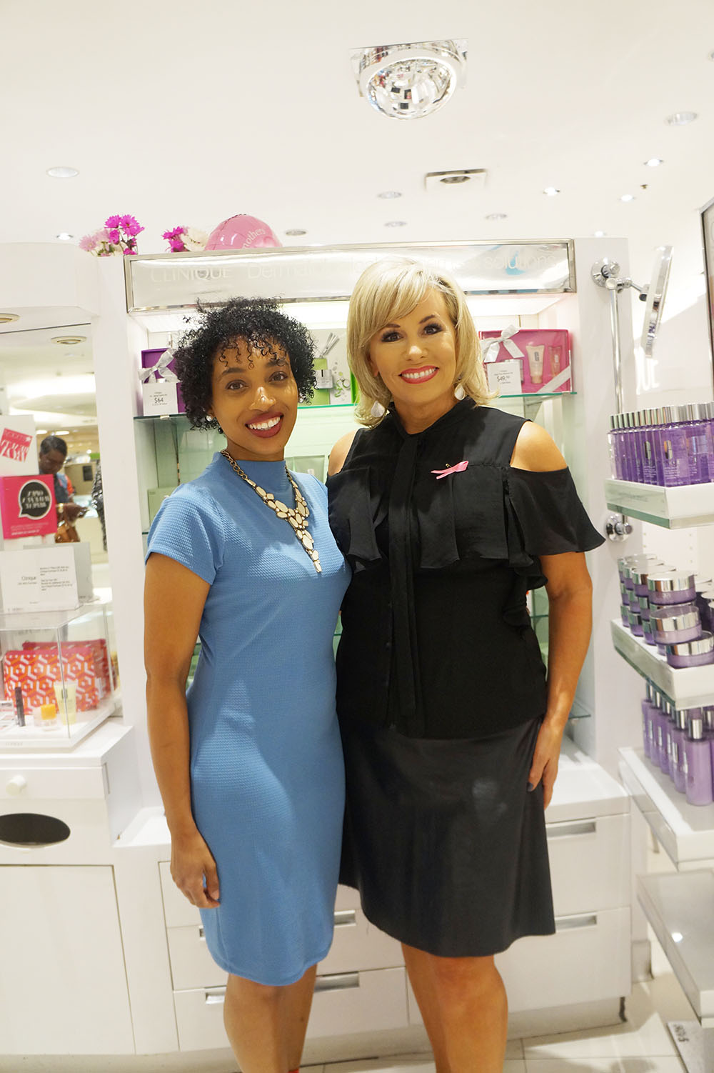 Andrea Fenise Memphis Fashion Blogger covers Macy's Oak Court Come As You Art Beauty Event