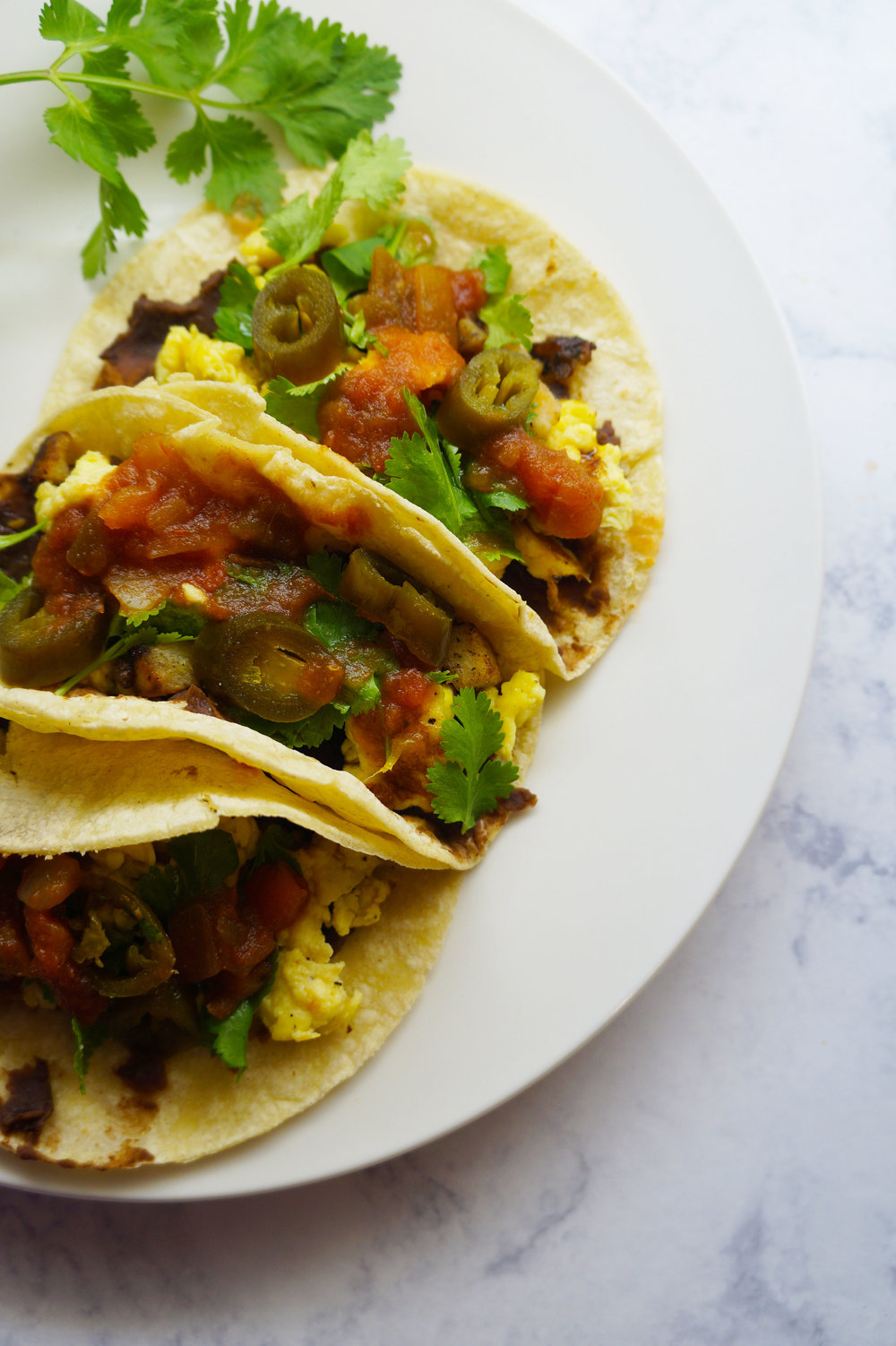 Andrea Fenise Memphis Fashion and Memphis Food Blogger shares a breakfast taco recipe
