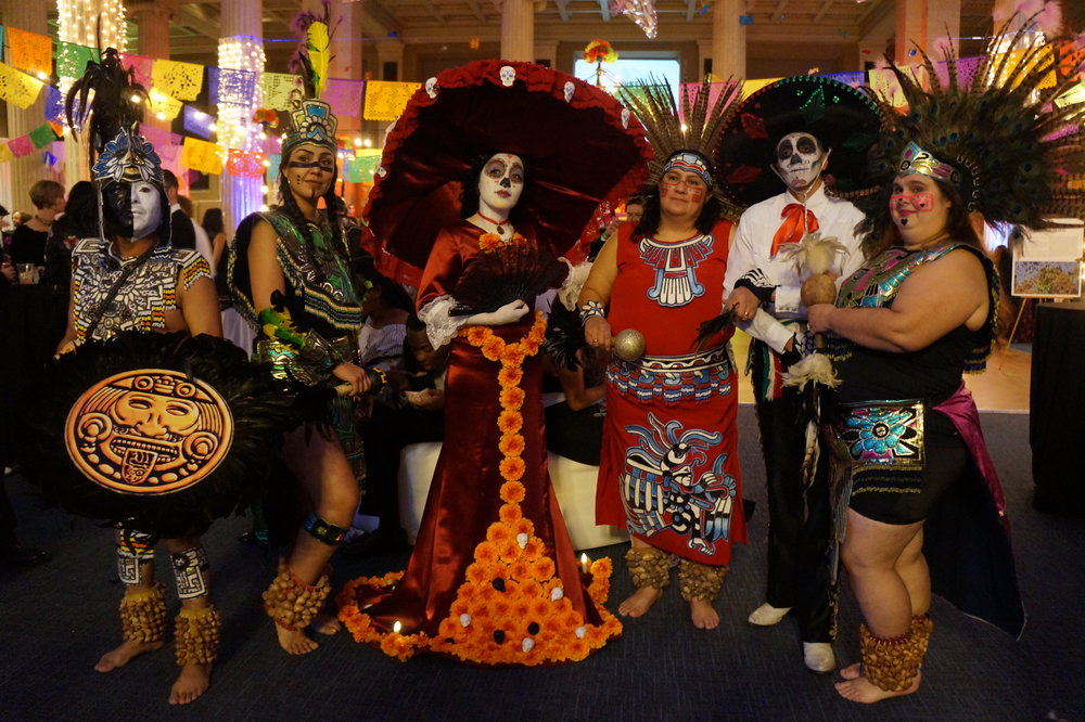 Andrea Fenise Memphis Fashion Blogger covers Latino Memphis Day of the Dead Fiesta