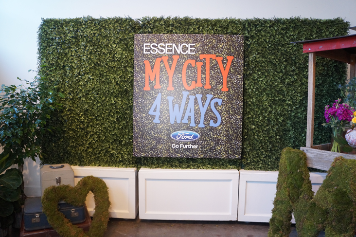 Andrea Fenise Memphis Fashion Blogger shares coverage of the Essence My City Four Ways presented by Ford