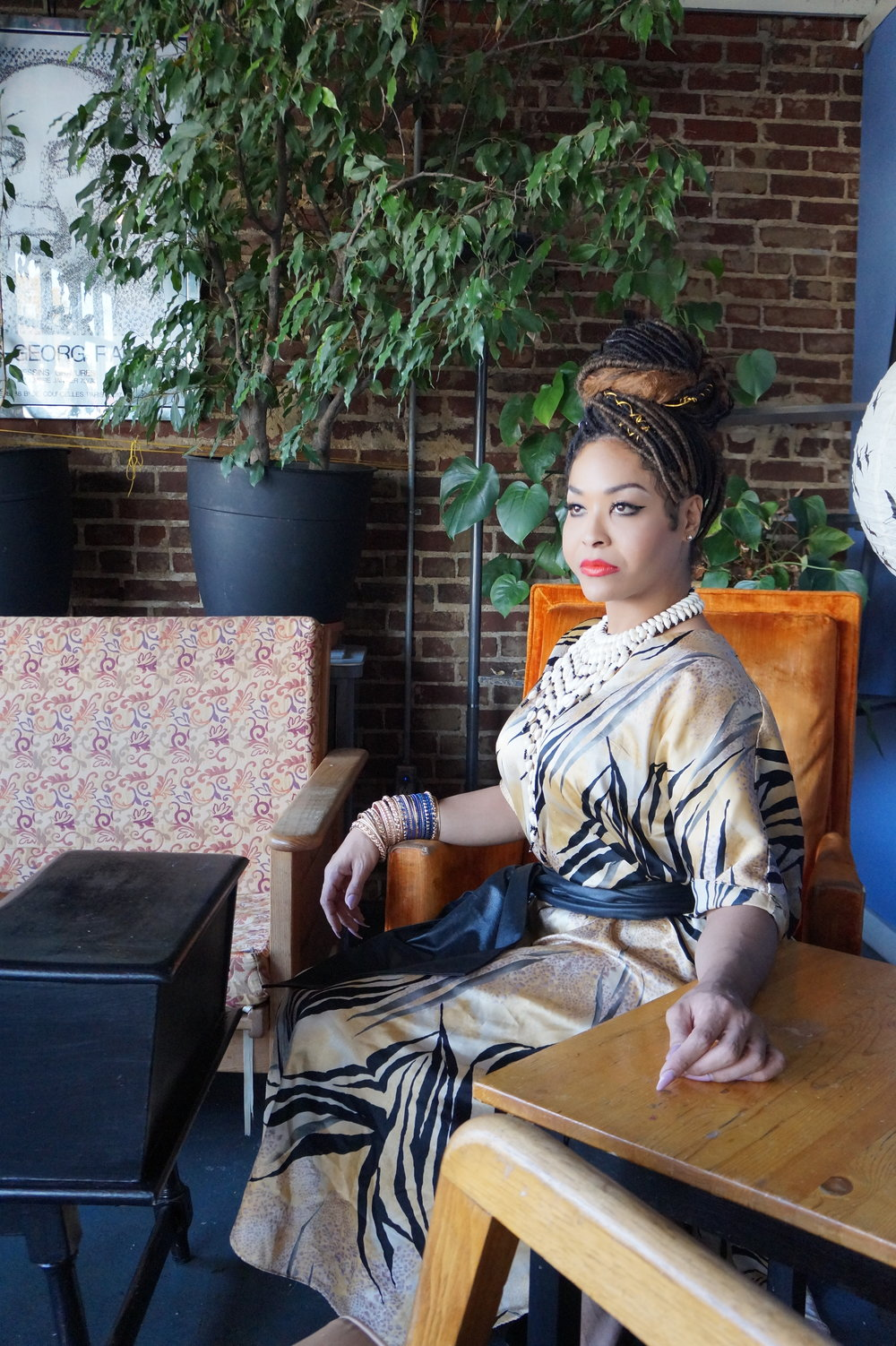 Andrea Fenise Memphis Fashion Blogger interviews Jasmine Tasaki Memphis transgender woman of color for Working Girl Series