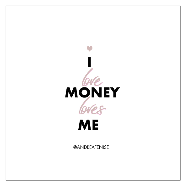 Andrea Fenise Memphis Fashion Blogger shares money affirmations