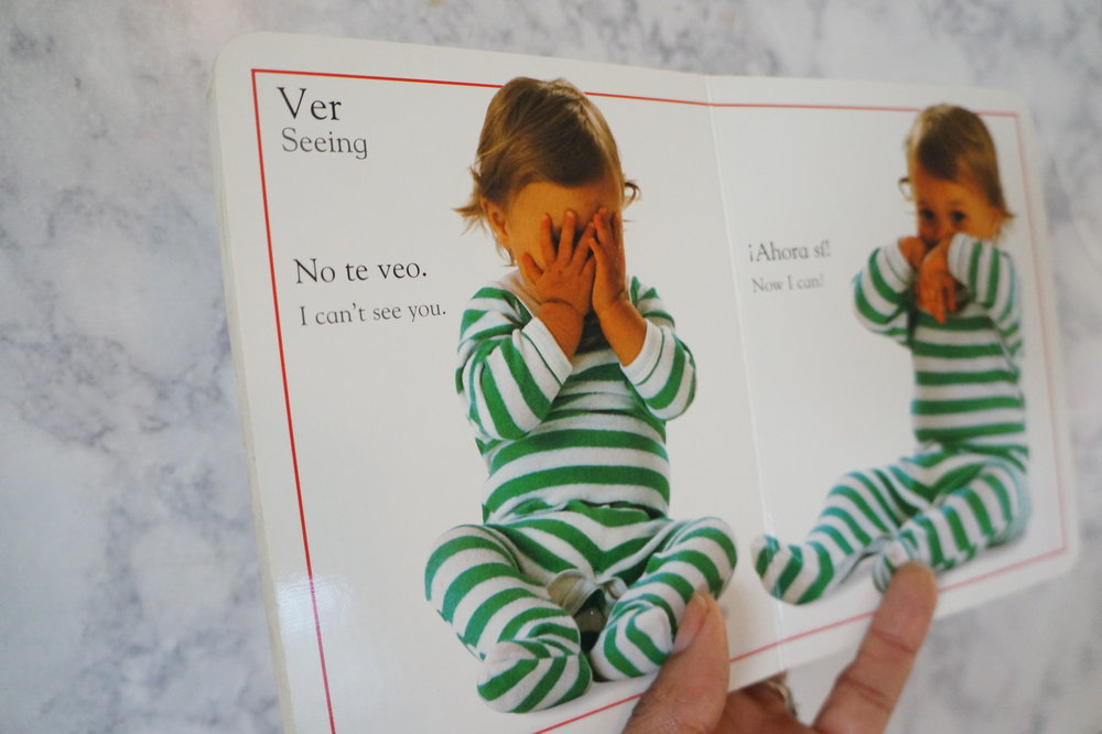 Andrea Fenise Memphis Fashion Blogger Memphis Parenting Blogger shares how to learn spanish using bilingual childrens books