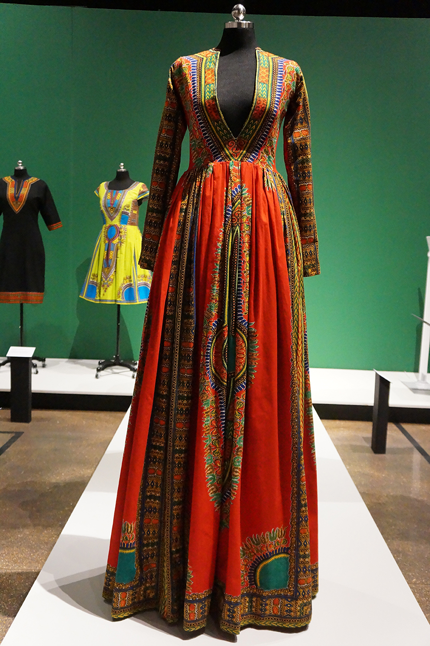 Andrea Fenise Memphis Fashion Blogger shares African Print Fashion Now exhibit at the Brooks Museum