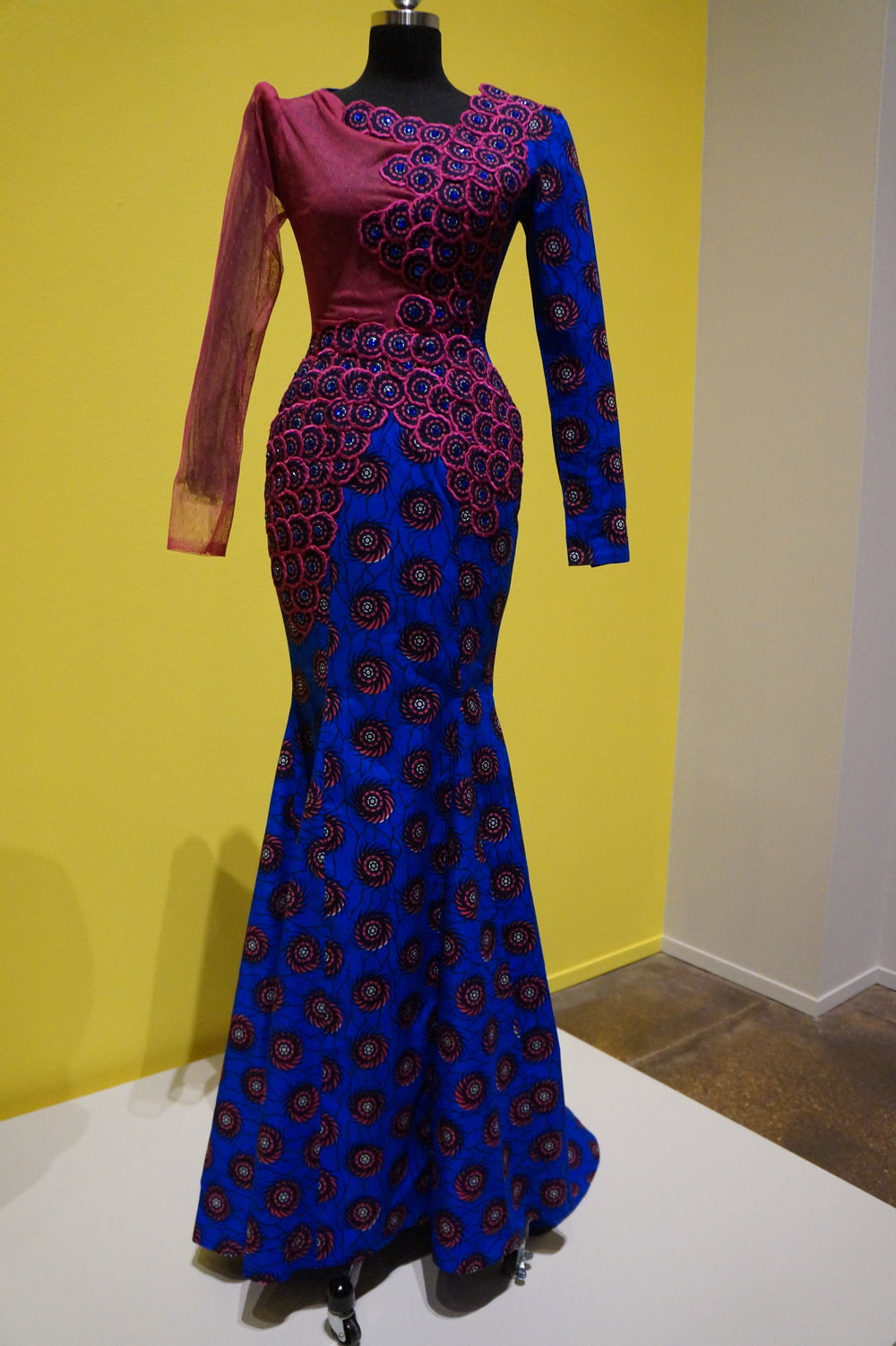 Andrea Fenise Memphis Fashion Blogger shares African Print Fashion Now Exhibit