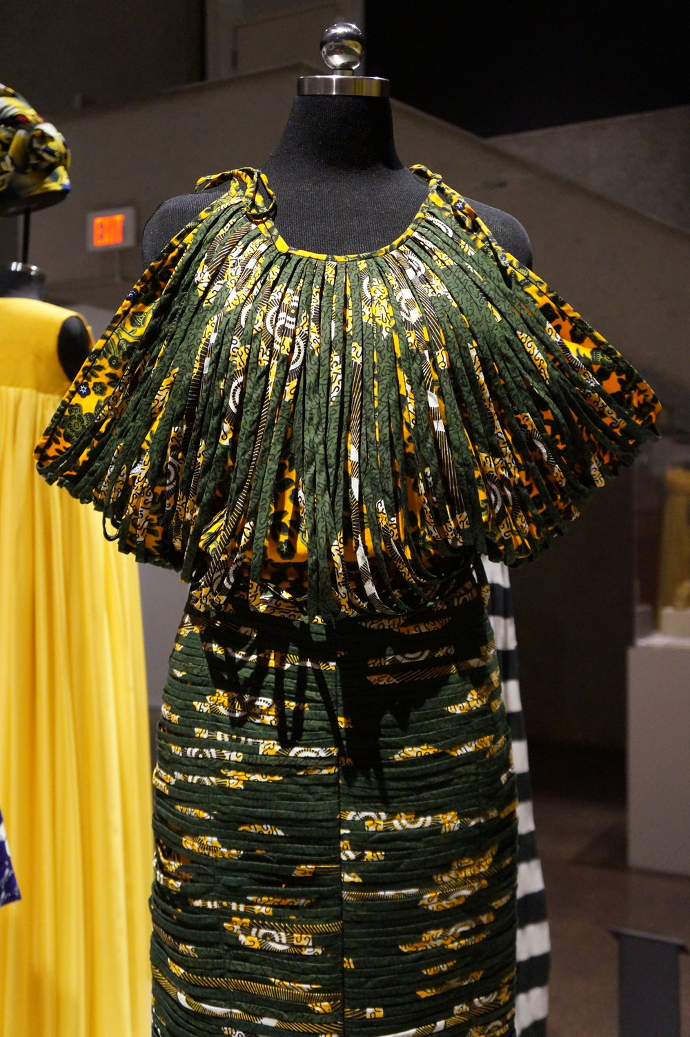 Andrea Fenise Memphis Fashion Blogger shares African Pritn Fashion Now exhibit