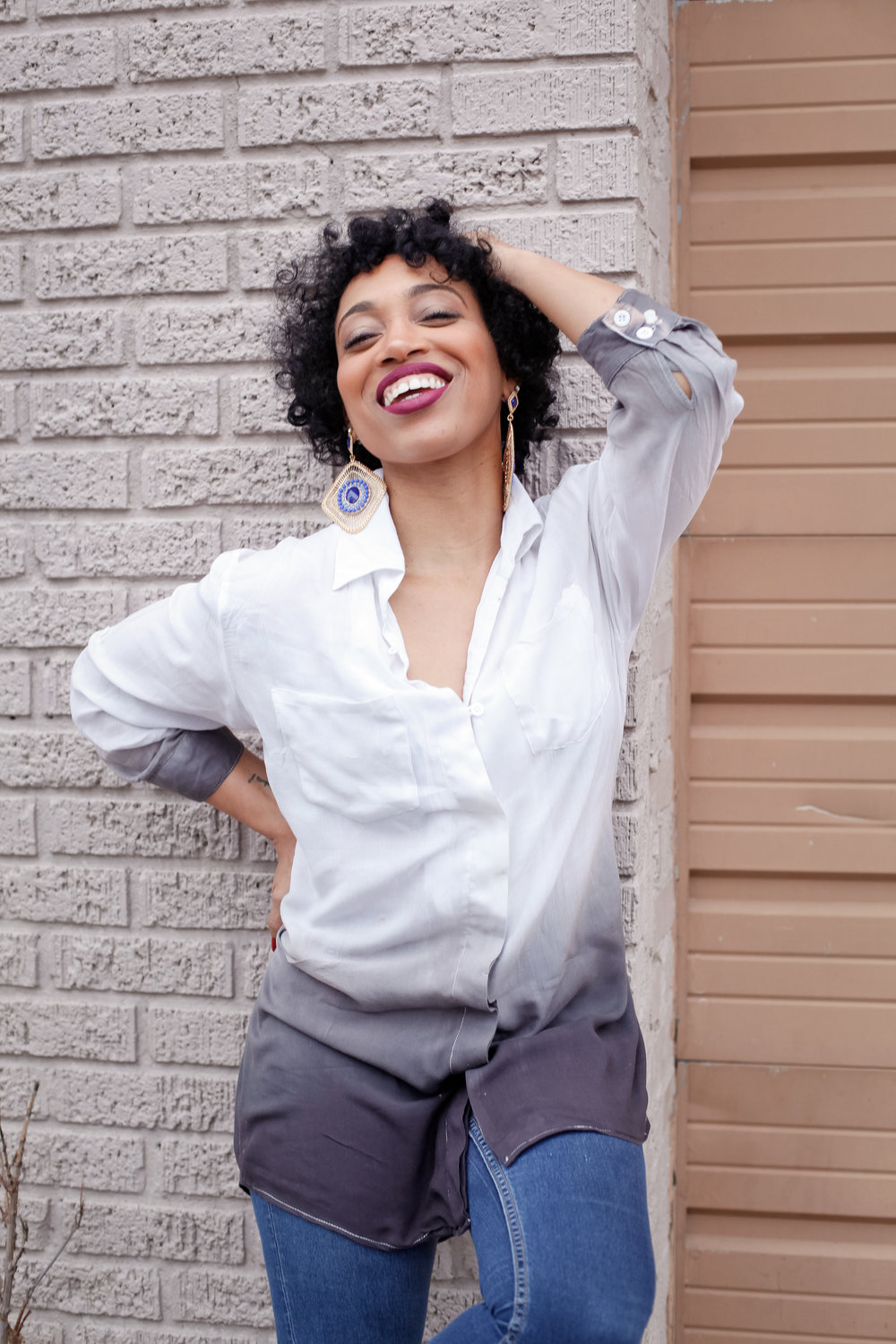 Andrea Fenise Memphis Fashion Blogger shares discovering new looks in 30s