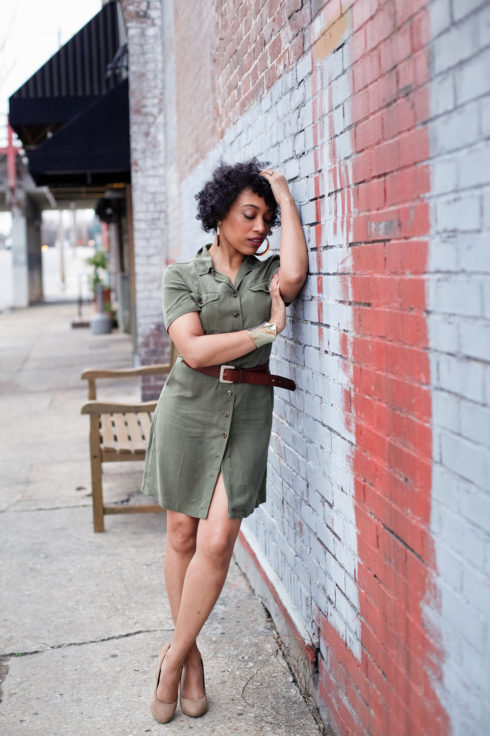 Andrea Fenise Memphis Fashion Blogger shares Turn this Room into an Outfit series