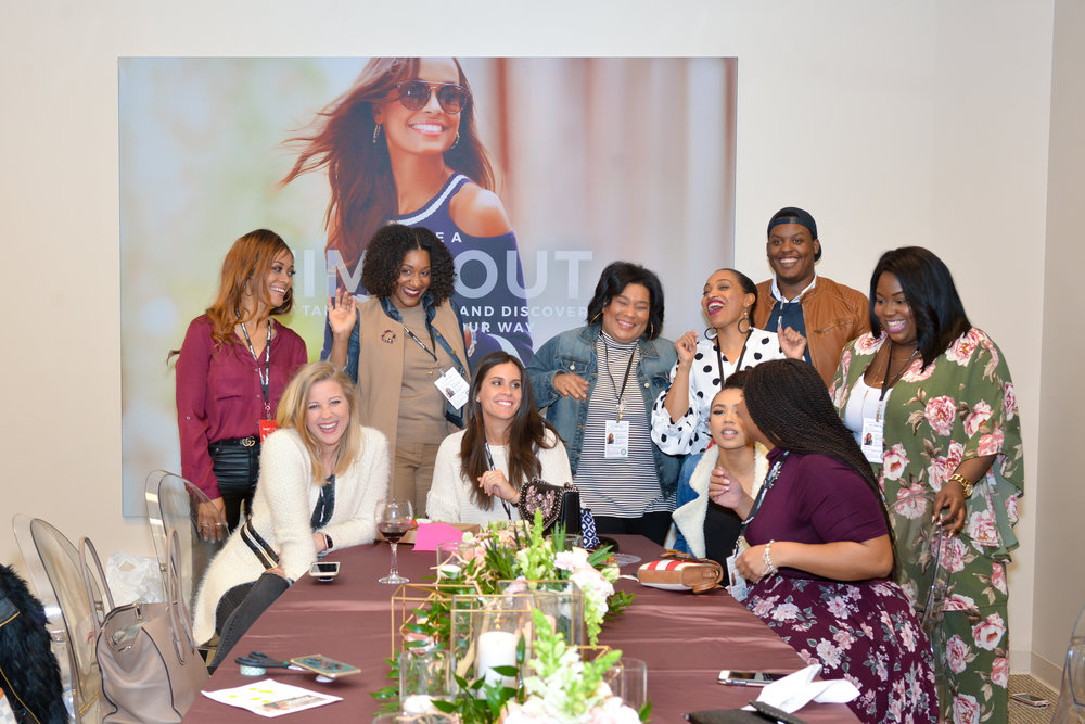 Andrea Fenise Memphis Fashion Blogger shares Tanger Style VIP Preview Party