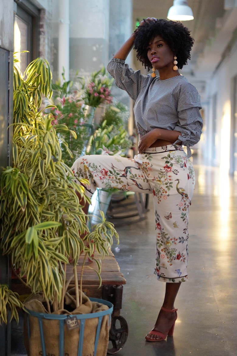 Andrea Fenise Memphis Fashion Blogger and Memphis Fashion Stylist shares Spring Trends : Florals and Stripes