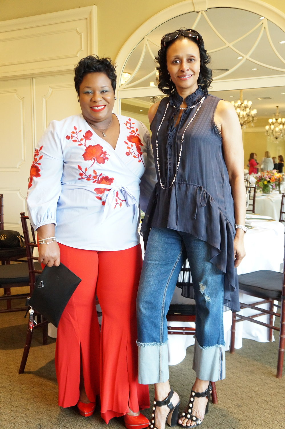 Andrea Fenise Memphis Fashion Blogger shares #memphisfashionweek headliner luncheon with Rachel Roy