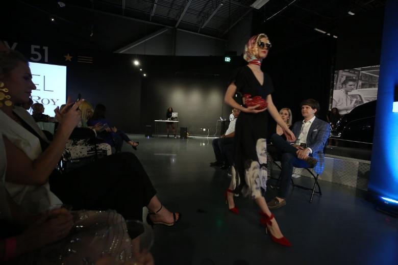 Andrea Fenise Memphis Fashion Blogger shares Memphis Fashion Week show at Graceland