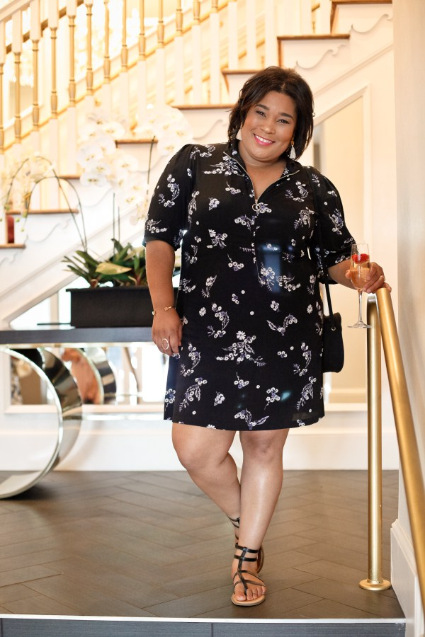 Andrea Fenise Memphis Fashion Blogger shares Blogger + Bubbly Meetup at Guest House at Graceland