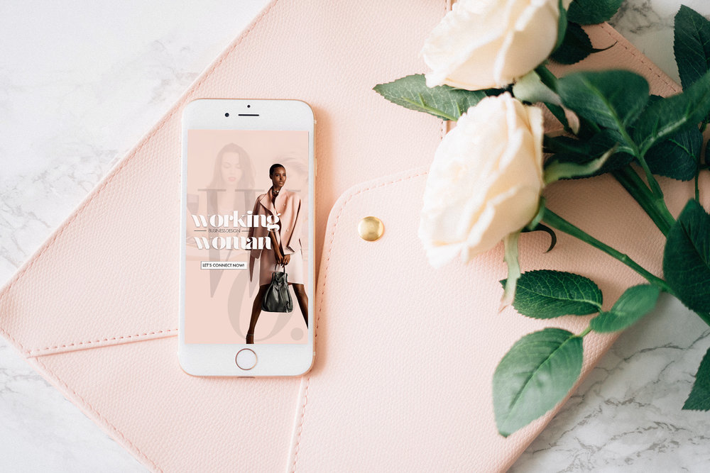 Andrea Fenise Memphis Fashion Blogger shares new project Working Woman
