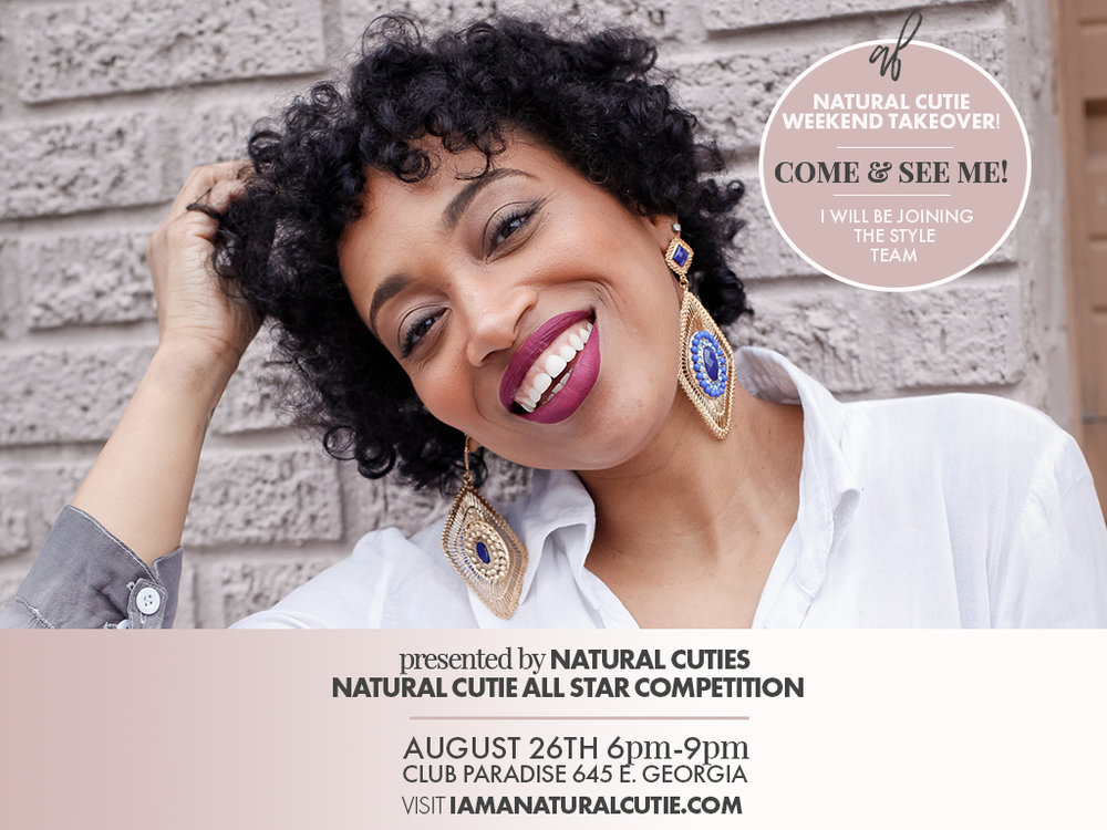 Andrea Fenise Memphis Fashion Blogger shares host Natural Cuties Weekend Takeover