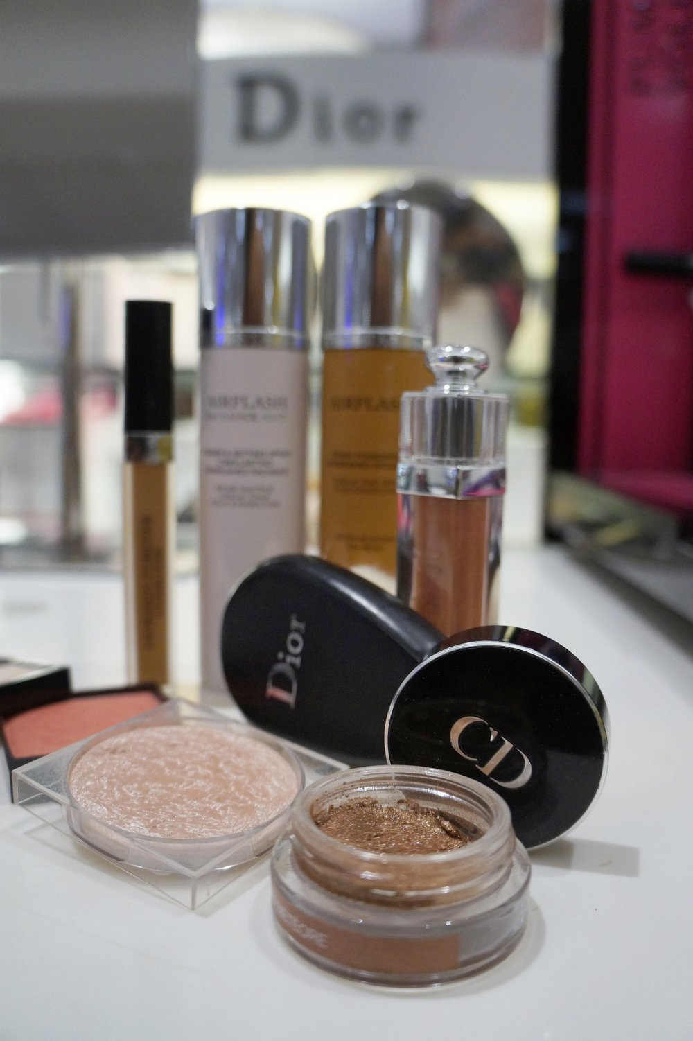 Andrea Fenise Memphis Fashion Blogger shares Blogger Beauty Event with Dior at Wolfchase Galleria Mall