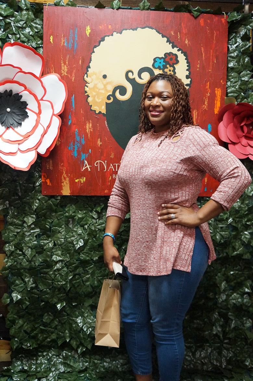 Andrea Fenise Memphis Fashion Blogger features story about A Natural Affair Salon #themeetup