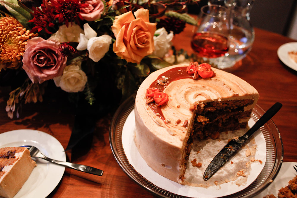 Andrea Fenise Memphis Fashion Blogger shares Friendsgiving with creative friends