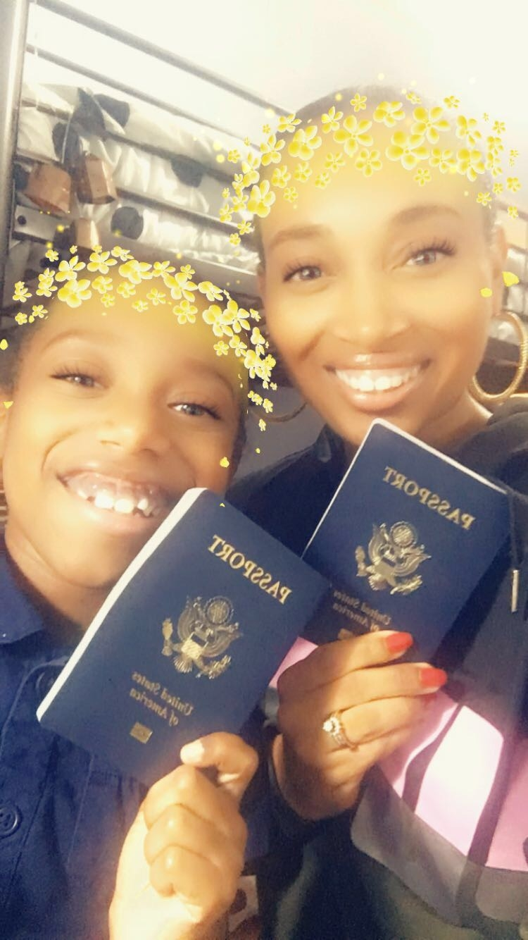 Andrea Fenise Memphis Fashion Blogger shares journey of getting a passport