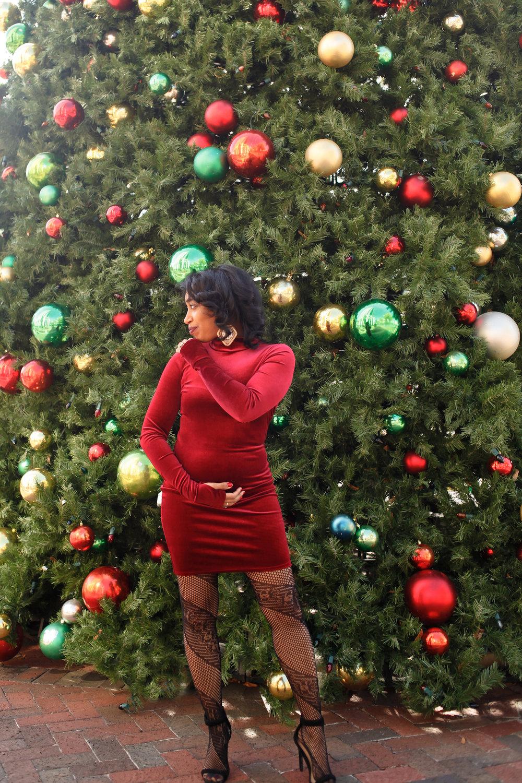 Andrea Fenise Memphis Fashion Blogger shares pregnancy announcement