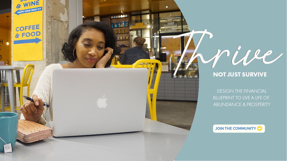 Andrea Fenise Memphis Fashion Blogger and Memphis Lifestyle Blogger share financial tips in Thrive Not Just Survive Series