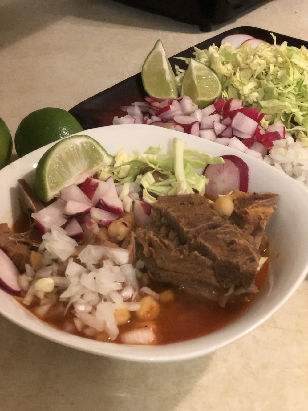 Andrea Fenise Memphis Fashion Blogger and Memphis Food Blogger shares an authentic Mexican Pozole Recipe
