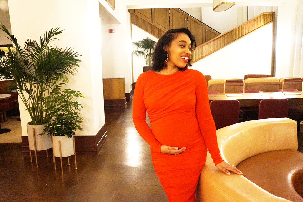 Andrea Fenise Memphis Fashion Blogger shares the Beauty of Pregnancy