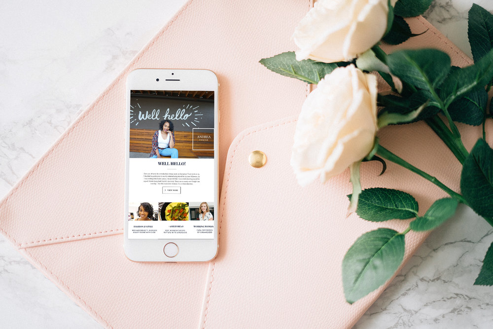 Andrea Fenise Memphis Fashion Blogger shares newsletter signup