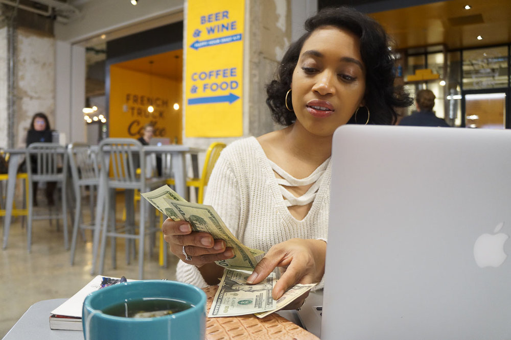 Andrea Fenise Memphis Fashion Blogger and Financial Blogger shares wise things to do with your tax refund