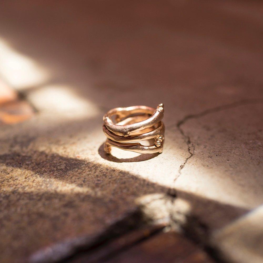 Romulus Ring - Pink Gold Vermeer